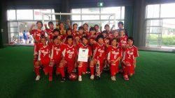 2015年度 全日本女子ユース(U-15)フットサル大会沖縄県予選 優勝はナビィータ!