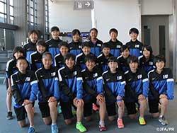 JFAエリートプログラム女子U-14 中国遠征、上海に到着