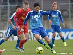 日本高校サッカー選抜 第4戦はノアシェランに惜敗 ~デュッセルドルフ国際ユースサッカー大会~
