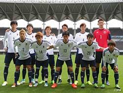 U-20日本代表候補 キャンプ最終日J2千葉に4-1で勝利!エースの小川が2得点!