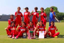 2017第29回九州なでしこサッカー大会(鹿児島県開催)熊本ルネサンス優勝!