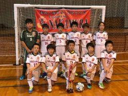 2017年度 第4回 COPA FANA U-10 優勝は横河武蔵野FC !