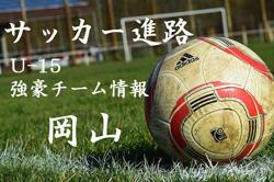 【U-15強豪チーム紹介】岡山県 サウーディ