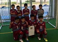 2017年度 第7回兵庫県少年U-10 フットサル大会 姫路予選 優勝はルゼルやわたSC!