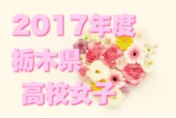 2017年度  栃木県高等学校女子サッカー新人大会 優勝は宇都宮中央女子高校!