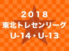 2018年度 東北トレセンリーグU-14 最終結果!優勝は青森トレセン!