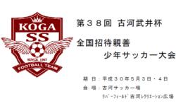 2018年度 全国高校総合体育大会東京都大会 西支部予選 ブロック優勝10チーム決定!