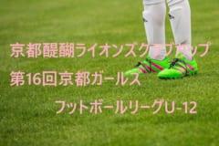 2018年度 第11回 JFAトレセン関西U-14リーグ 最終結果!6,7節は積雪のため中止