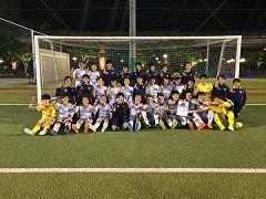 2018年 日本クラブユースサッカー選手権(U-15)大阪府予選 優勝は大阪市ジュネッスFC!