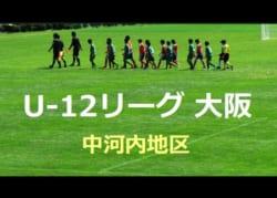 2018年度 U-12リーグ(全日リーグ)第42回全日本少年サッカー大会 中河内地区(大阪府) 2次リーグ 10/21結果更新!次回10/27