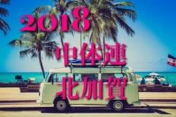 2018 第7回西胆振中体連サッカー競技大会 優勝は室蘭市立桜蘭中学校!