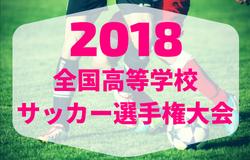 2018年度 第97回全国高校サッカー選手権岩手県大会 準決勝結果速報!花巻東が決勝へ!