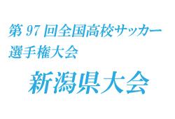 2018年度 第97回全国高校サッカー選手権大会 新潟県大会結果表掲載!優勝は帝京長岡!