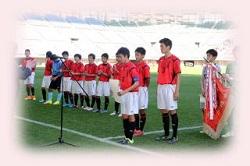 2018年 第17回 茨城放送杯少年サッカー大会  優勝は、F.C. LAZOS MITO!