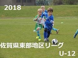2018 佐賀県東部地区リーグ前期 U-12 1部1位はサガン鳥栖!
