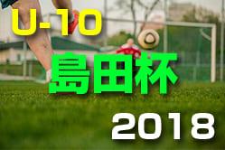 2018年度 島田杯 第47回 富山県少年サッカー交歓会 優勝は小杉!