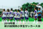 2018年度 日刊スポーツ杯第25回関西小学生サッカー大会 奈良大会 組合せ決定1/12.13.14開催!