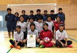 2018年度 全日本ユースU-15女子フットサル選手権 鹿児島大会 優勝はHKSCリンドーゼ霧島A!
