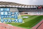 2018年度 第15回東海ユース(U-11・U-12)サッカー大会 【4県代表決定!】12/2開催!
