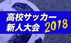 2018年度(平成30年度)三重県高校サッカー新人大会 優勝は四日市中央工業!