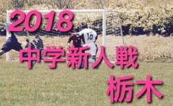 2018年度 栃木県中学校新人体育大会サッカー大会 U-14 優勝は姿川中!