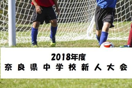 2018年度第52回奈良県中学校サッカー新人大会 光明中学校、上中学校、両校優勝!