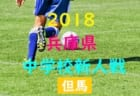2018年度 第40回 但馬中学校サッカー新人大会 優勝は豊岡南中学校!豊岡北中学校も県大会へ!