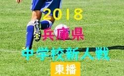 2018年度 第38回東播地区中学新人サッカー競技大会 10/20,21開催!組み合わせ掲載!
