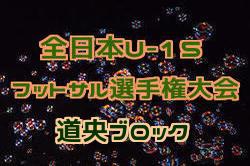 2018第30回 全道U-15フットサル選手権大会 道央ブロック予選 優勝はバーモス恵庭!