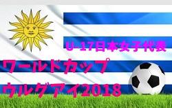 【U-17日本女子代表 】FIFA U-17女子ワールドカップウルグアイ2018(11/13~12/1)メンバー・スケジュール発表!