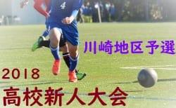 2018 神奈川県高等学校サッカー新人大会 川崎地区予選 12/15,16結果速報!結果入力・情報をお待ちしています!