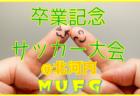2018年度 第12回卒業記念サッカー大会 MUFGカップ北河内地区予選 10/27~開催!組合せ掲載!