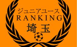 全74チーム掲載!埼玉少年サッカー ジュニアユースチーム 戦績独自集計ポイント別 チーム情報一覧