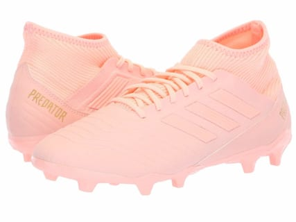 [adidas(アディダス)] メンズサッカーシューズ・靴 Predator 18.3 FG Clear Orange/Clear Orange/Trace Pink 7.5 (25.5cm) D – Medium