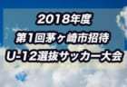 KYFA 2018第39回九州選抜サッカー大会参加選手・後期U-13追加選手決定!情報頂きました!