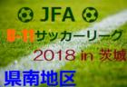 2018年度 福島 U-10サッカーリーグin県北 最終結果!優勝は大玉FC!