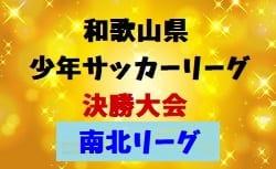 2018年度 第42回和歌山県少年サッカーリーグ決勝大会 和歌山市予選(南北リーグ) 1/12結果!次節は1/19!Bリーグ決勝の情報提供お待ちしています!