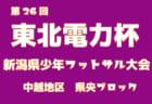 2018年度 第26回東北電力杯新潟県少年フットサル大会新潟東ブロック予選 優勝は南浜ダッシャーズ