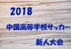 2018年度 第11回中国高校サッカー新人大会【広島県開催】準決勝結果速報!決勝は3/18!