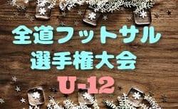 【北海道】全道フットサル選手権大会2019 U-12の部 優勝はエスピーダ旭川!