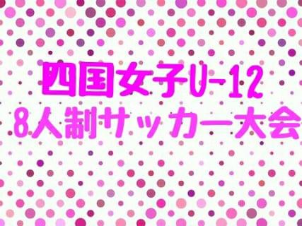 2018年度 第9回四国女子U-12 8人制サッカー大会【四国大会】(愛媛県開催)12/8.9開催!