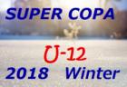 2018年度 SUPER COPA 2018 WINTER(スーペルコパ)in茨城【U11】優勝は、トリアネーロ町田!