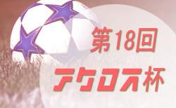 2018年度 第18回 アクロスカップ(U-10)優勝は瑞浪スパローズ!