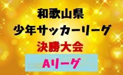 2018年度 第42回和歌山県少年サッカーリーグ決勝大会 Aリーグ 3/2,3開催!組み合わせ決定!