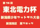 2018年度 第26回東北電力杯新潟県少年フットサル大会中越地区県央ブロック予選 優勝は吉田SC!