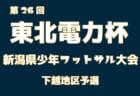 2018年度 第26回東北電力杯新潟県少年フットサル大会中越地区魚沼柏崎ブロック予選 優勝はARTISTA!