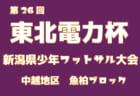 2018年度 第26回東北電力杯新潟県少年フットサル大会下越地区予選 優勝は水原SS!