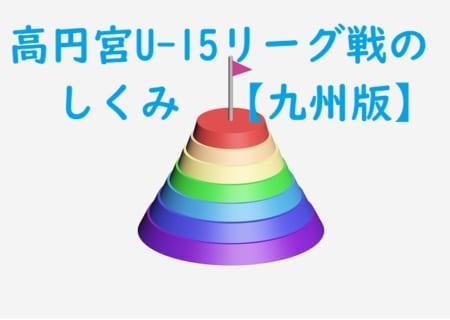 今さら聞けない高円宮杯(U-15)サッカーリーグ戦ってなに?【九州8県版】