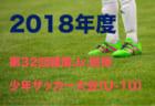 2018年度 第24回本町カップ(神奈川県) 優勝はFC東海岸!全結果掲載!情報ありがとうございました!