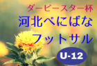 2018年度【山形】ダービースター杯・河北べにばなフットサル大会(U-11)優勝は南陽West FC!